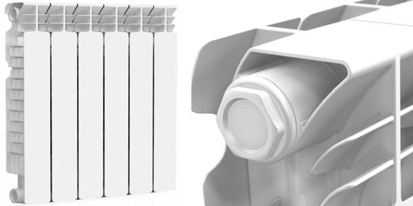 Алюминиевый радиатор Nova Florida SERIR ExtraTherm Super
